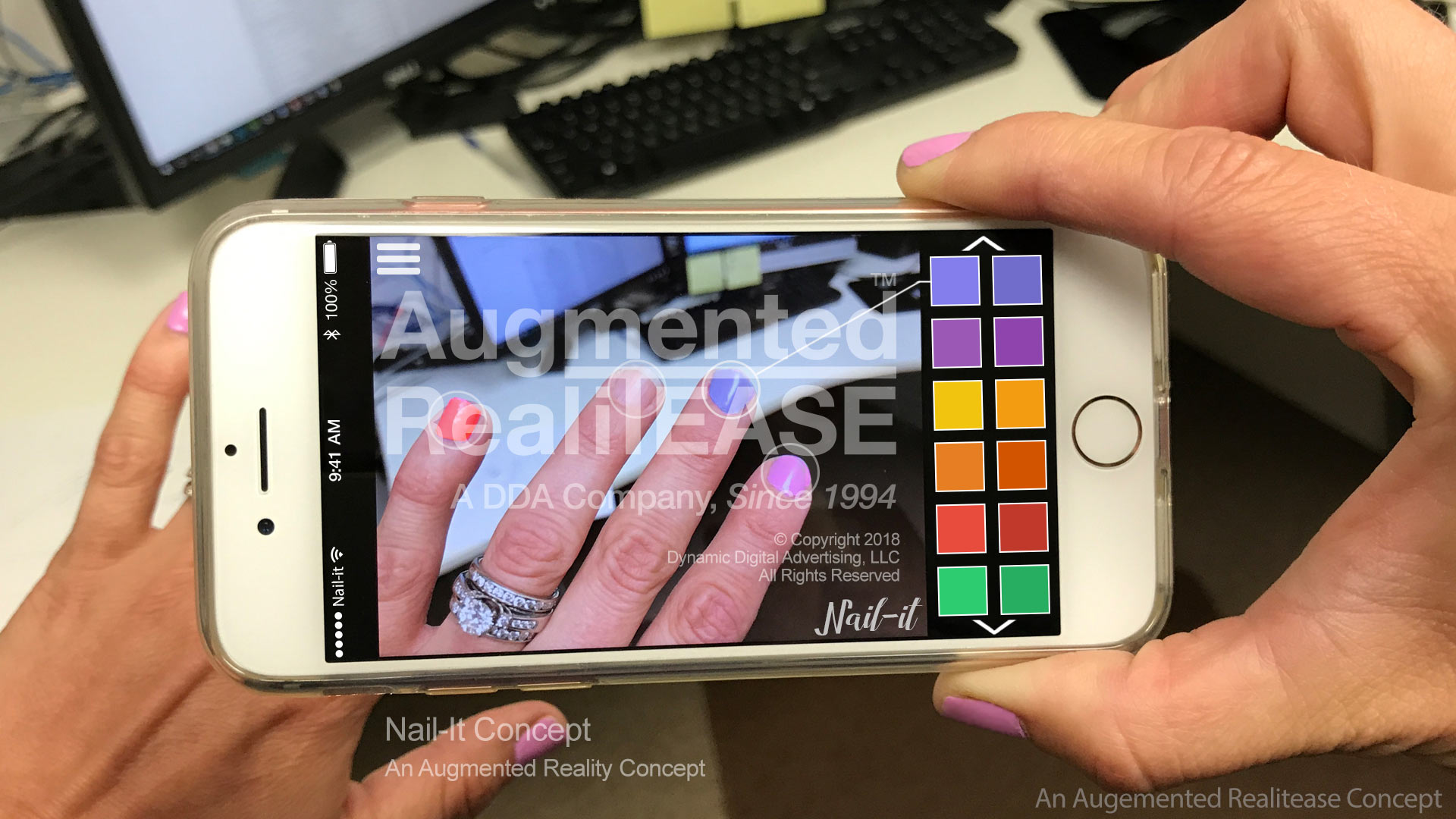 Nail-It Augmented Reality Application