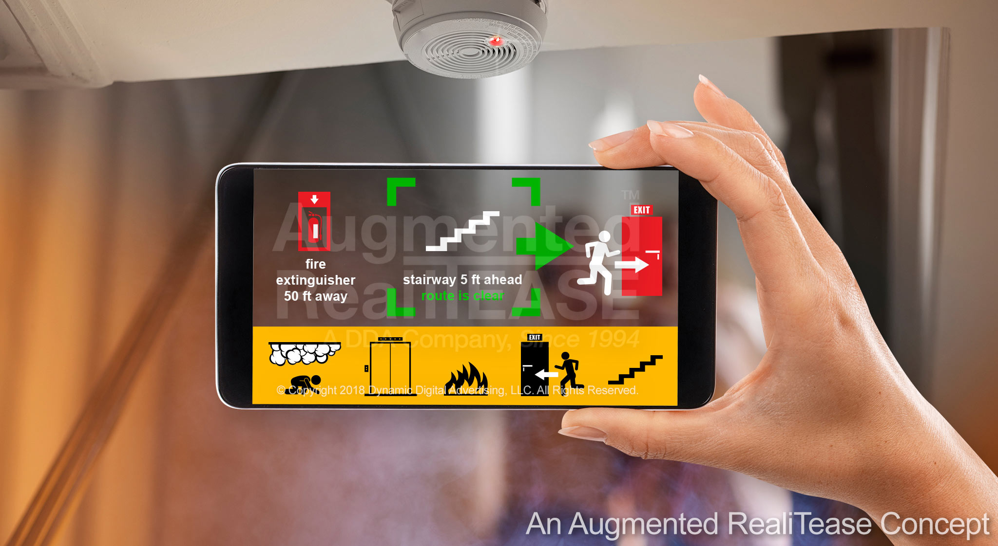 Safety Augmented Reality Application